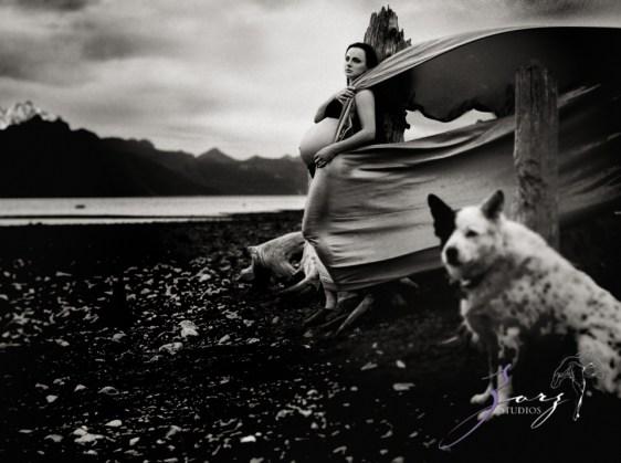 Destination Maternity: Alaskan, Russian, Tough, Pregnant. By Zorz Studios. (53)