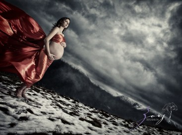 Destination Maternity: Alaskan, Russian, Tough, Pregnant. By Zorz Studios. (67)