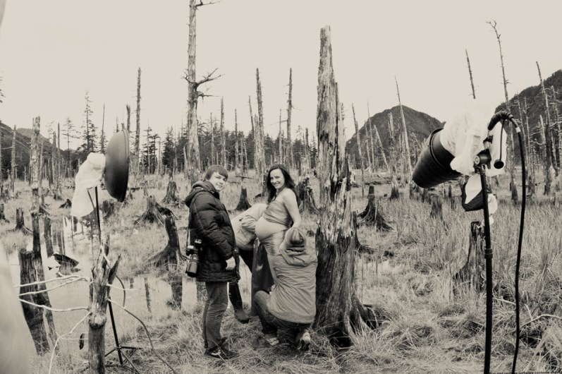 Destination Maternity: Alaskan, Russian, Tough, Pregnant. By Zorz Studios. (15)