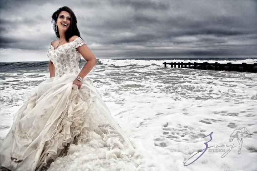 Wedding Day, Fall in Water, Zorz Studios