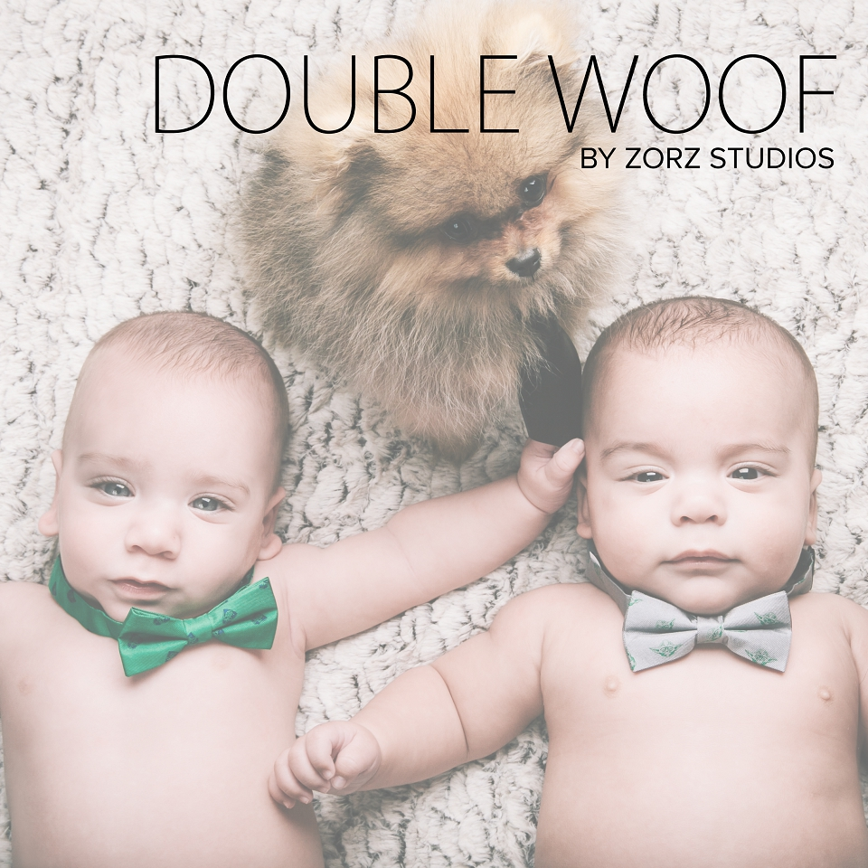 Double Woof: Fun Children Photography