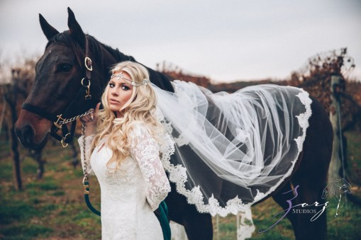 Equestrian Vines: Shannon + Al = Poetic Trash the Dress Session by Zorz Studios (10)