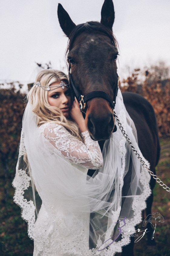 Equestrian Vines: Shannon + Al = Poetic Trash the Dress Session by Zorz Studios (7)