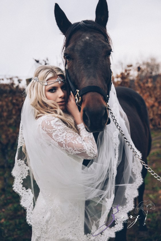 Equestrian Vines: Shannon + Al = Poetic Trash the Dress Session by Zorz Studios (7)