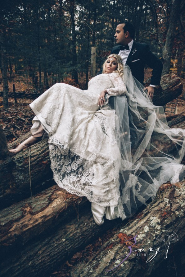 Equestrian Vines: Shannon + Al = Poetic Trash the Dress Session by Zorz Studios (2)