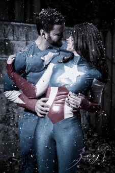Captains of America: Sandy + Jared = Epic Engagement Session by Zorz Studios (5)