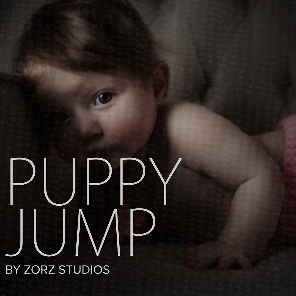 Puppy Jump: Cute Baby Photography by Zorz Studios (16)