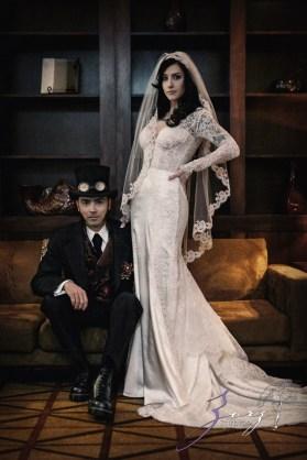 Annie + Chris = Steampunk Wedding by Zorz Studios (58)