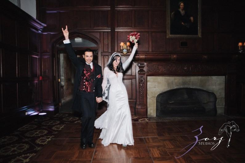 Annie + Chris = Steampunk Wedding by Zorz Studios (27)