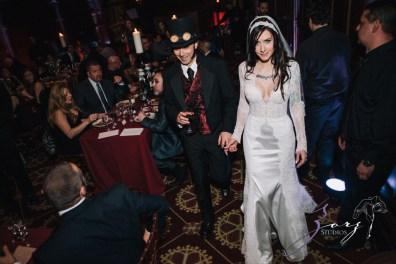 Annie + Chris = Steampunk Wedding by Zorz Studios (17)