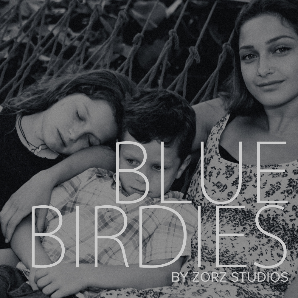Blue Birdies: Model-Like Family Portraits in Miami, FL by Zorz Studios (1)