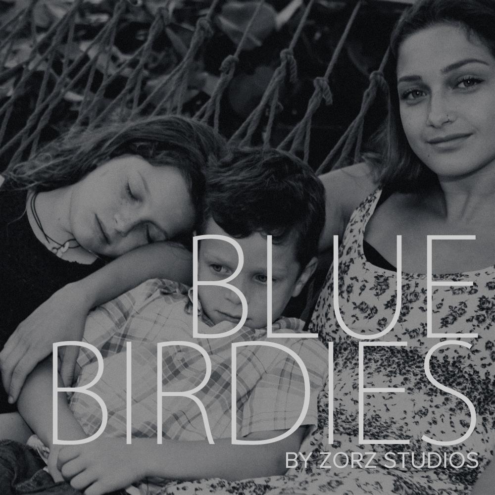Blue Birdies: Model-Like Family Portraits in Miami, FL by Zorz Studios (1)