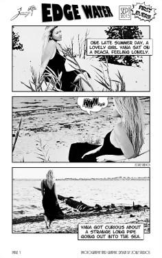 Edge Water: Yana + Alex = Comic Engagement Session by Zorz Studios (9)