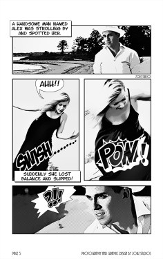 Edge Water: Yana + Alex = Comic Engagement Session by Zorz Studios (7)