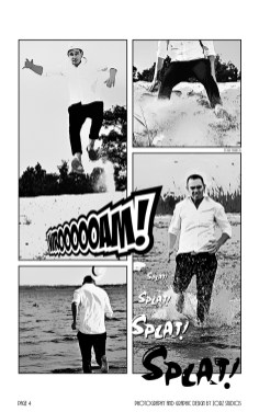 Edge Water: Yana + Alex = Comic Engagement Session by Zorz Studios (6)