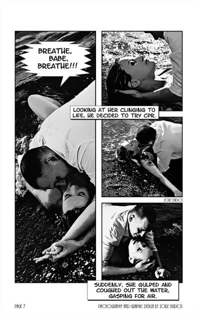 Edge Water: Yana + Alex = Comic Engagement Session by Zorz Studios (2)