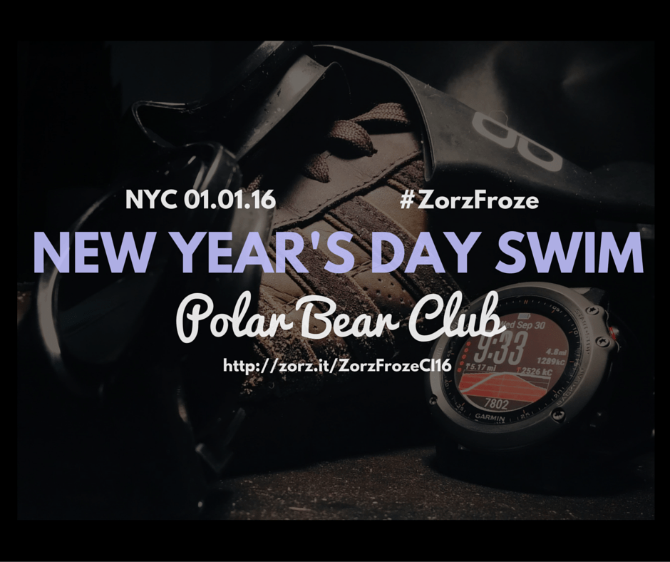 Zorz Froze: New Year's Day Swim