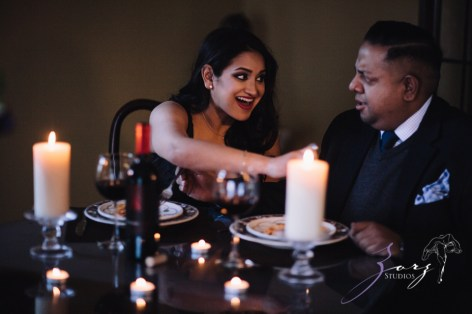 Who's The Chef? Rupal + Krishna = Food Fight Engagement Session by Zorz Studios (39)