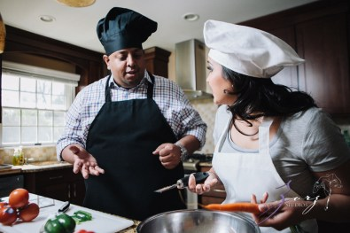 Who's The Chef? Rupal + Krishna = Food Fight Engagement Session by Zorz Studios (30)
