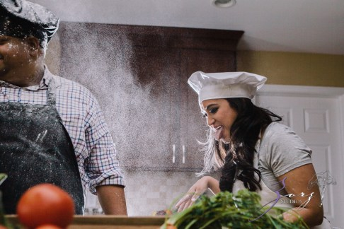 Who's The Chef? Rupal + Krishna = Food Fight Engagement Session by Zorz Studios (13)