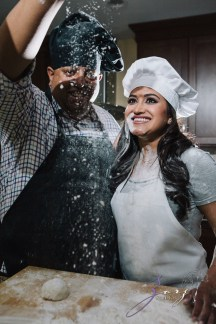 Who's The Chef? Rupal + Krishna = Food Fight Engagement Session by Zorz Studios (11)
