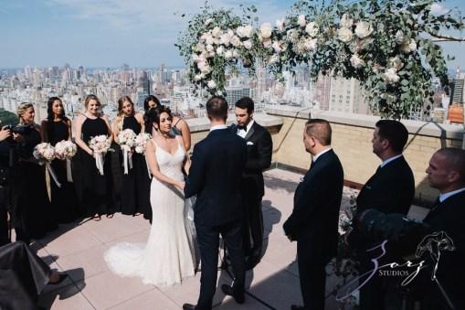 State of Mind: Leah + Joseph = Manhattan Rooftop Wedding (71)