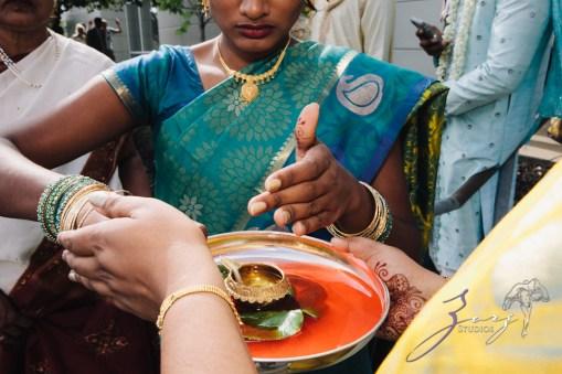 7th Circle: Manjula + Evan = Indian-Jewish Wedding by Zorz Studios (78)