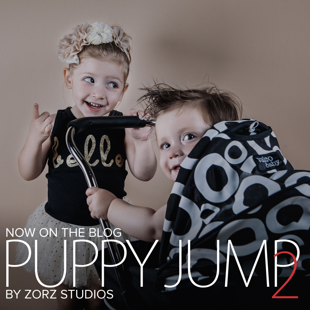 Puppy Jump 2: Mischievous Baby Photoshoot by Zorz Studios (20)