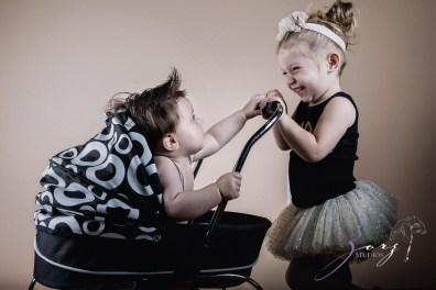 Puppy Jump 2: Mischievous Baby Photoshoot by Zorz Studios (6)