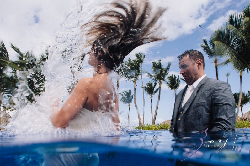 Caught in Traffic: Olessa + Joe = Punta Cana Destination Wedding by Zorz Studios (11)