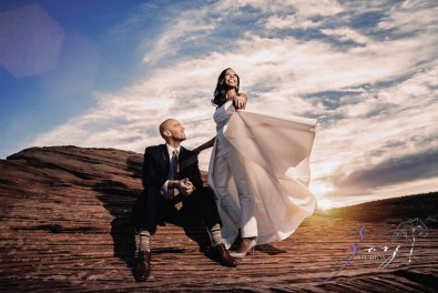 Canyon: Fashionable Engagement Session at Antelope Canyon by Zorz Studios (29)
