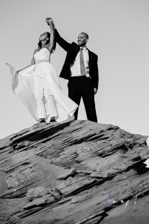 Canyon: Fashionable Engagement Session at Antelope Canyon by Zorz Studios (26)