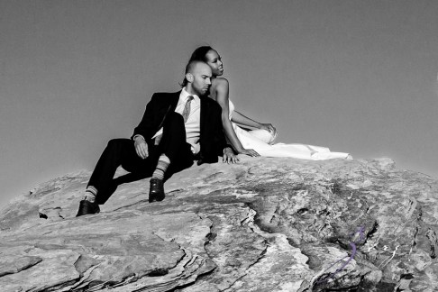 Canyon: Fashionable Engagement Session at Antelope Canyon by Zorz Studios (24)