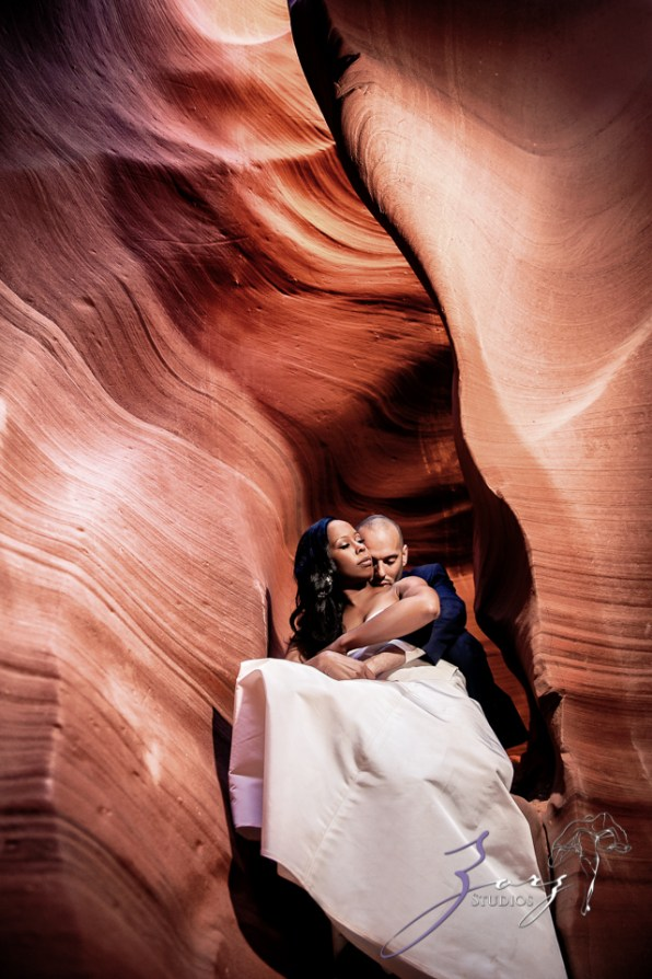 Canyon: Fashionable Engagement Session at Antelope Canyon by Zorz Studios (18)