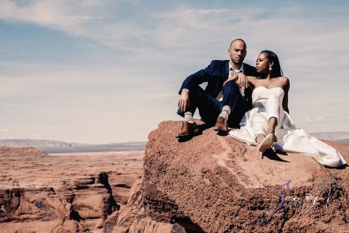 Canyon: Fashionable Engagement Session at Antelope Canyon by Zorz Studios (8)