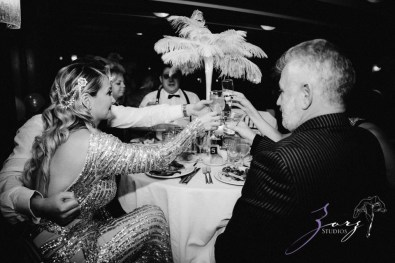 Gatsby at Sea: The Great Gatsby Theme Yacht Birthday Party by Zorz Studios (53)