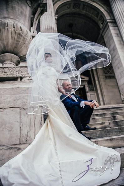 Bandana: Ana + Dana = Freaking Stylish Manhattan Wedding by Zorz Studios (65)
