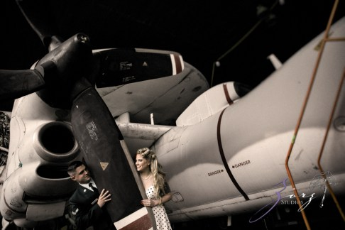 Pin-up Wings: Sam + Connor = Vintage Military Engagement Shoot by Zorz Studios (14)