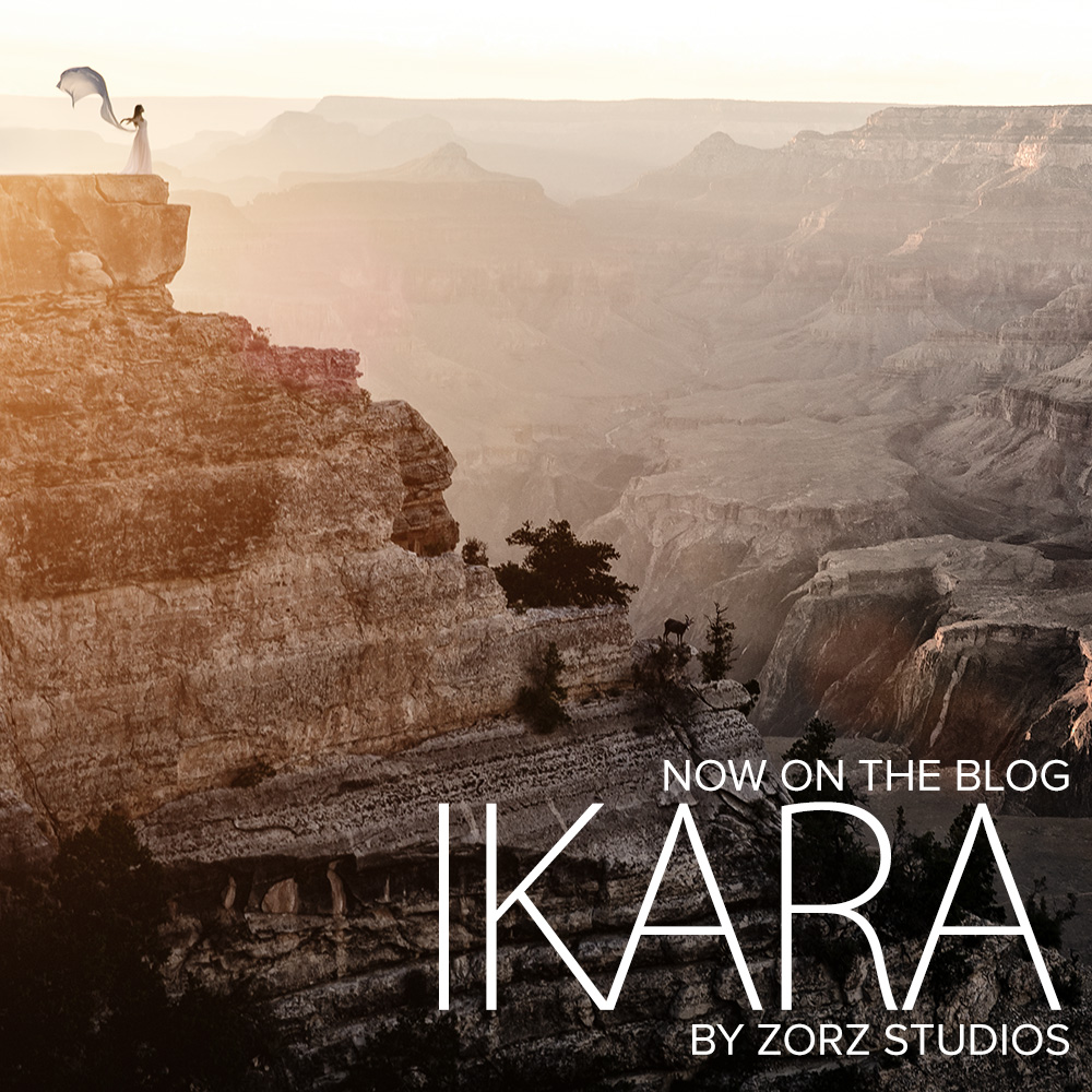 Ikara: Epic Beauty Portraits in Grand Canyon and Antelope Canyon by Zorz Studios (4)