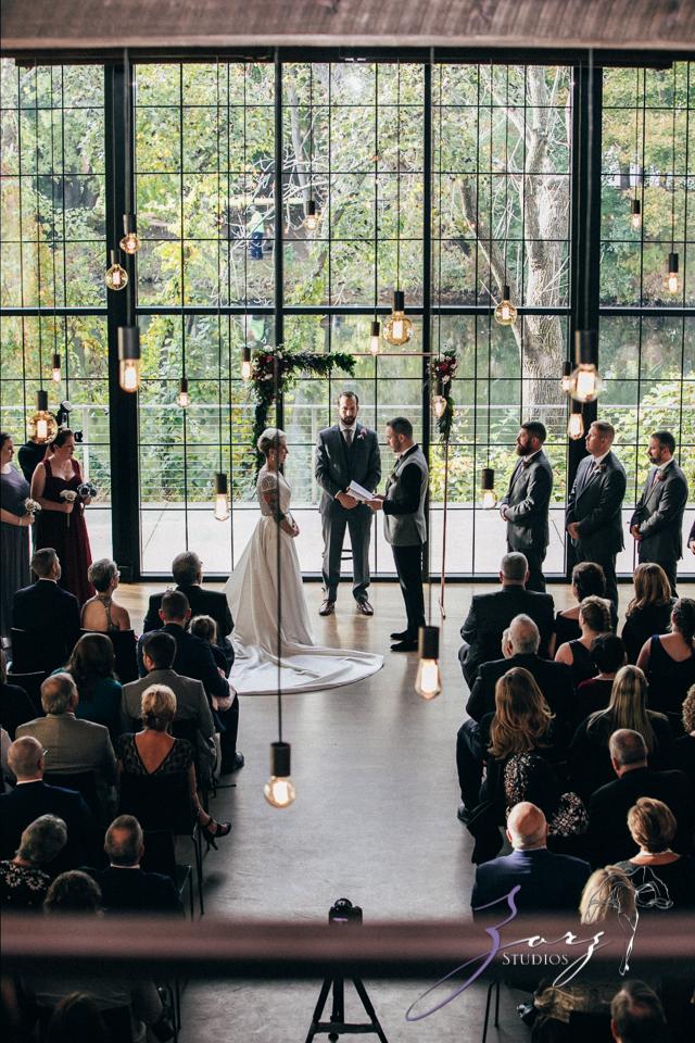 Vetz: Nicki + Adam = Industrial-Chic Wedding by Zorz Studios (54)