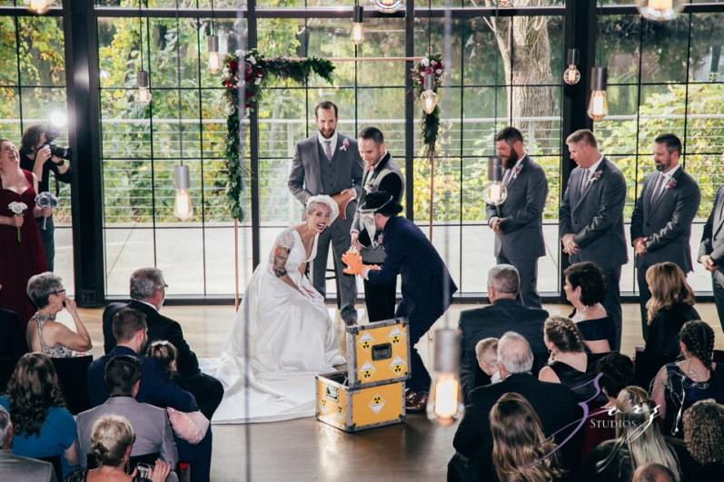 Vetz: Nicki + Adam = Industrial-Chic Wedding by Zorz Studios (51)