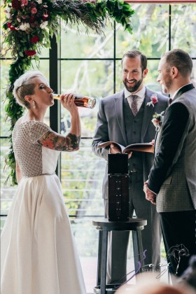 Vetz: Nicki + Adam = Industrial-Chic Wedding by Zorz Studios (47)