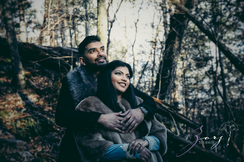 Elysium: Dreamlike Engagement Shoot at Raymondskill Falls by Zorz Studios (5)