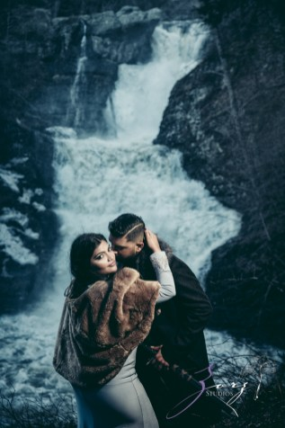 Elysium: Dreamlike Engagement Shoot at Raymondskill Falls by Zorz Studios (4)