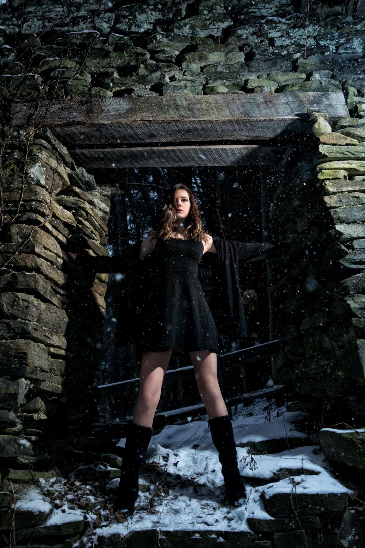 Elysium: Dreamlike Engagement Shoot at Raymondskill Falls by Zorz Studios (11)