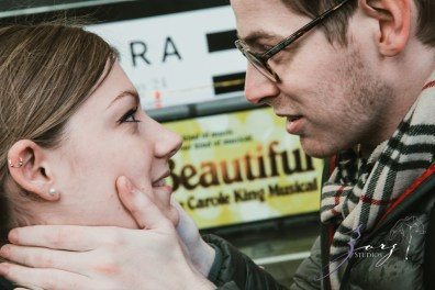 Trop Précieux: Frenchman's Marriage Proposal on Times Square by Zorz Studios (20)