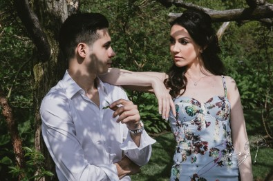 No Bounds: Ilana + Igor = Old Westbury Gardens Engagement Session by Zorz Studios (17)