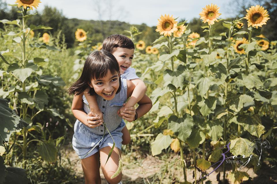 Field Trap: Sunflower Field Photoshoot for Three Families by Zorz Studios (29)