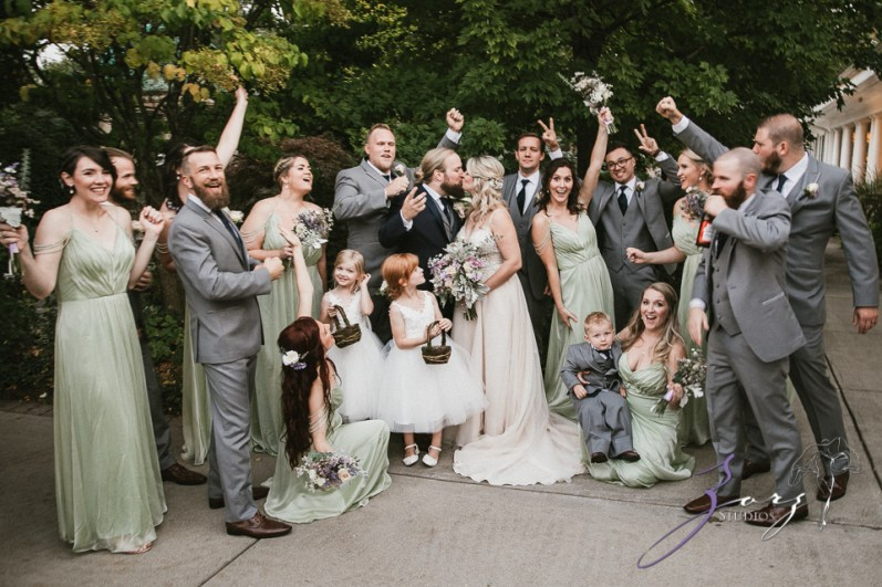Aslewwish: Modern Viking Wedding in Ohio by Zorz Studios (43)