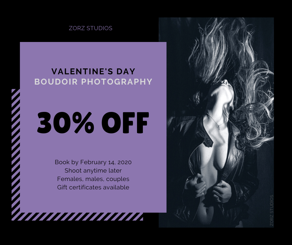 Valentine's Day Boudoir Photography Special Offer by Zorz Studios (5)